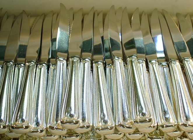 Flatware burnishing makes every dining experience a delight!