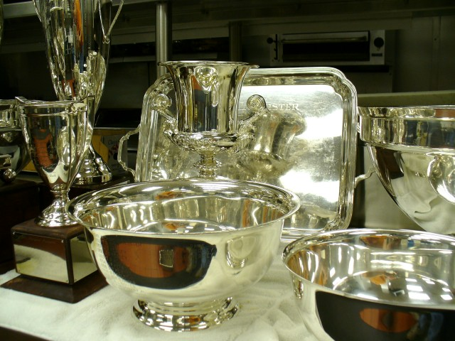 Polishing silver is our specialty