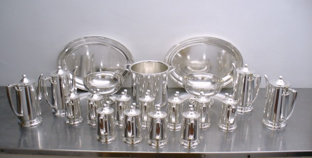 Silver polishing services for hotels, restaurants, and residential use