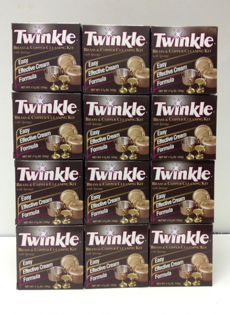 Twinkle Copper & Brass Polish Kit (12 pack)